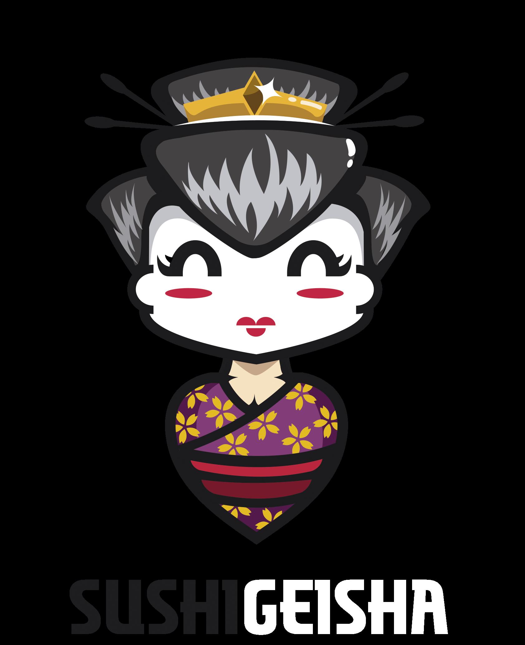 Sushi Geisha Logo PNG
