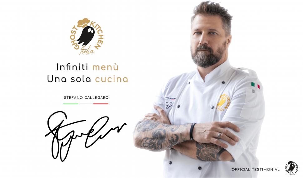 stefano callegaro per ghost kitchen italia